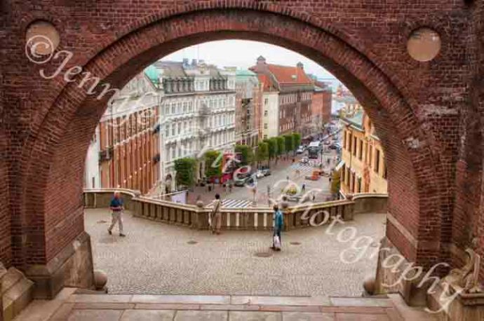 Helsingborg, Sweden from the castle keep