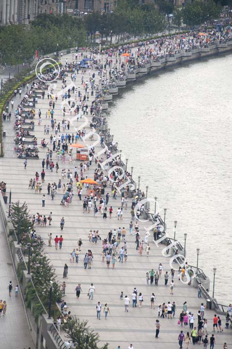 Boardwalk along the Bund, Shanghai