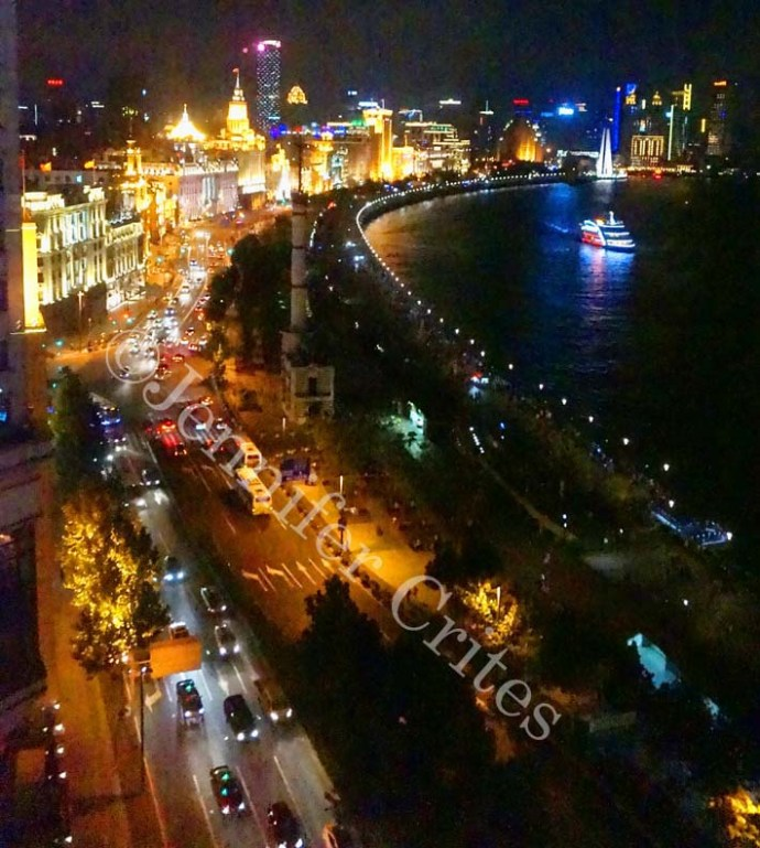 The Bund (older city) at night