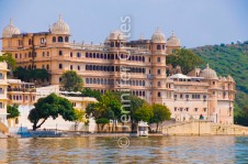 City Palace on Pichola Lake