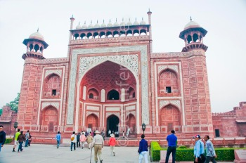 Taj Mahal entry gate